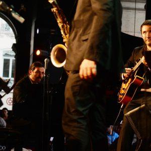 Uptown Quintet à Jazz au Péristyle, Lyon, juillet 2016, photo Alain Rico