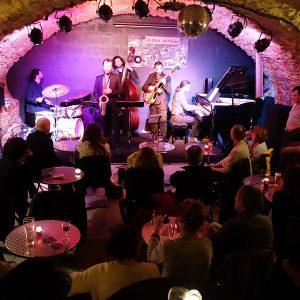 Jazz club la Clef de Voûte, Lyon, mai 2016