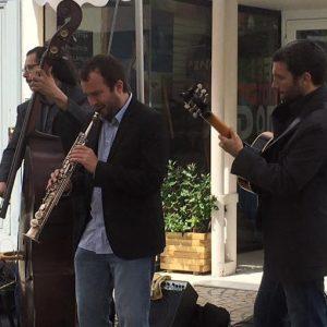 Concert dans la rue pour l'association des commerçants de Vaise
